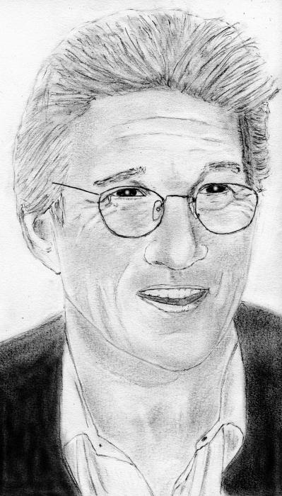 Richard Gere by ultrason